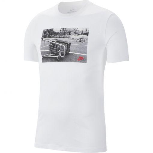 Nike heren t-shirt SS TEE SPRT CRT 1 - Wit