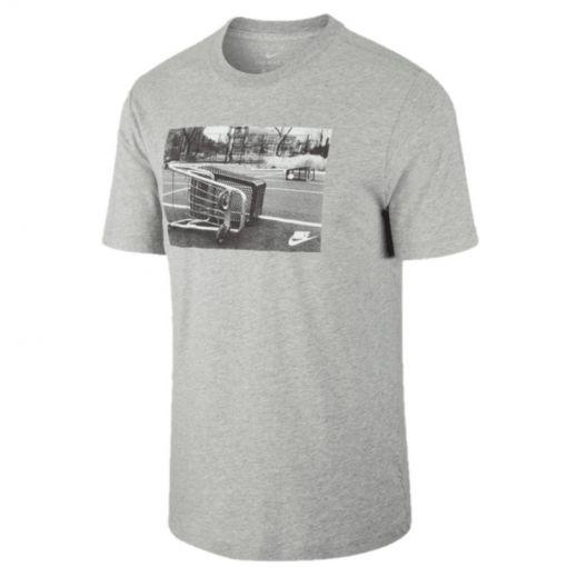 Nike heren t-shirt SS TEE SPRT CRT 1 - Grijs
