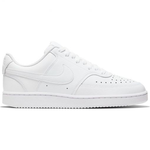 NIKE COURT VISION LO,BLACK/WHITE-PH - 100 WHITE/WHITE-WHITE