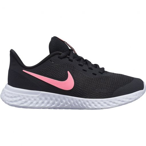 Nike junior schoen Revolution 5 Big Kids' Running - 002 BLACK/SUNSET PULSE