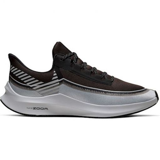 Nike heren hardloopschoen Zoom Winflo 6 Shield - 001 BLACK/REFLECT SILVER-WOLF