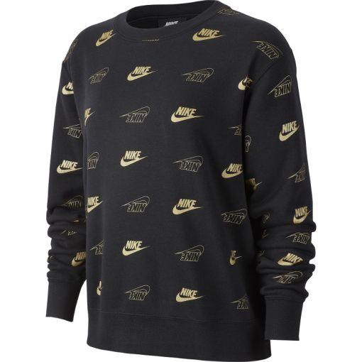 Nike dames trui Crew BB BFF Shine - Zwart