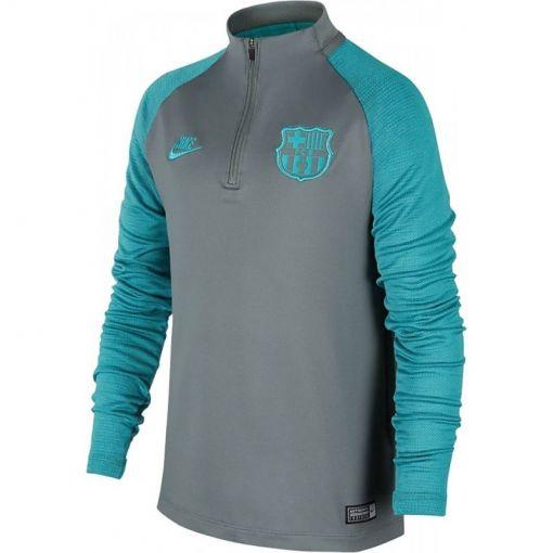 Nike junior FC Barcelona Strike Sweater - 070 DK SMOKE GREY/DK SMOKE GRE