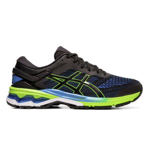 Asics heren hardloopschoen Gel-Kayano 26 - 003 BLACK/ELECTRIC BLUE