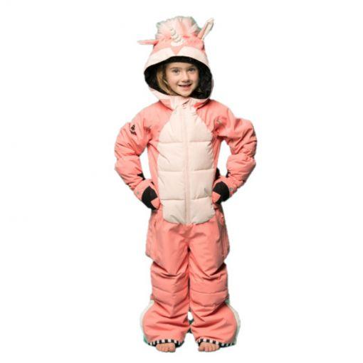 WeeDo junior skipak Unicorn Snowsuit - Zwart