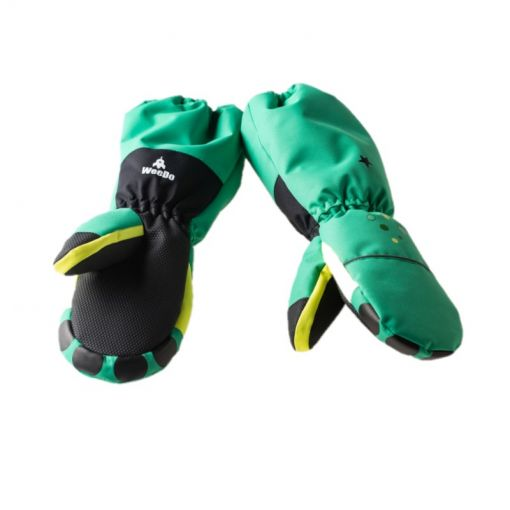 WeeDo junior wanten Monster Gloves - Zwart