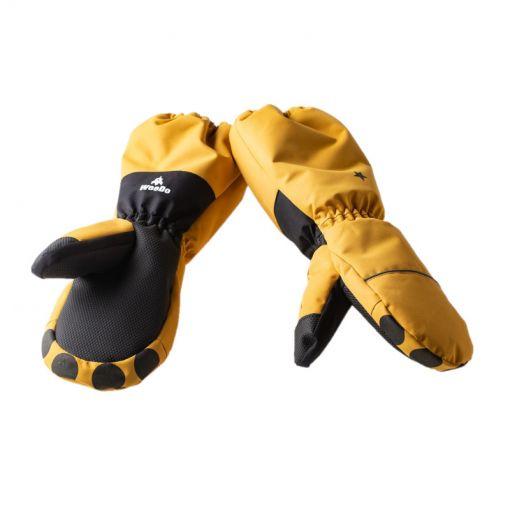 WeeDo junior wanten Lion Gloves - Zwart