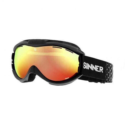 Sinner skibril Toxic - 10G MATTE BLACK