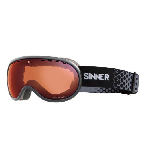 Sinner skibril Vorlage - 21 MATTE COOLGREY