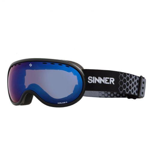 Sinner skibril Vorlage S - Zwart