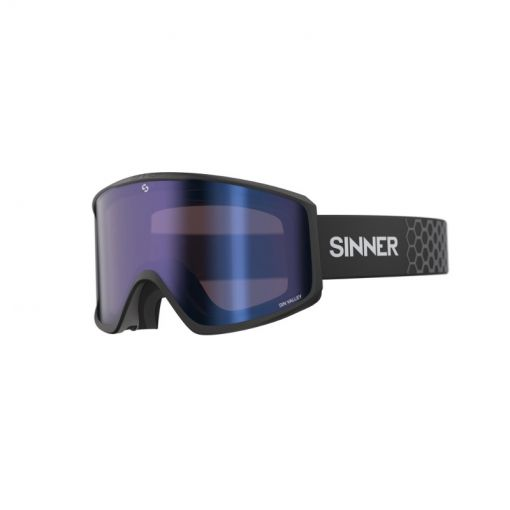 Sinner skibril Sin Valley + - Zwart