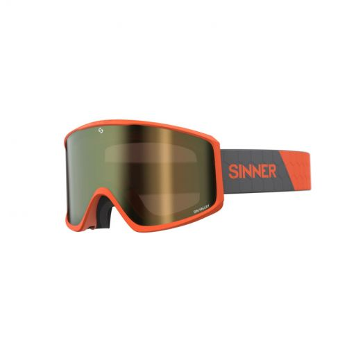 Sinner skibril Sin Valley + - 60 MATTE ORANGE