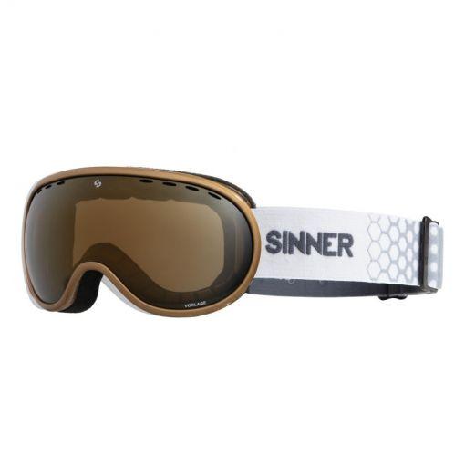 Sinner skibril Vorlage - 80 METALLIC GOLD