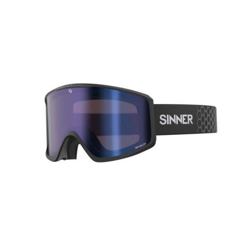 Sinner skibril Sin Valley - Zwart