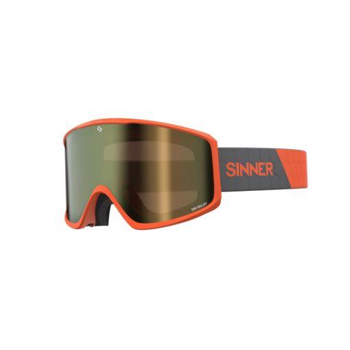 Sinner skibril Sin Valley - 60 MATTE ORANGE