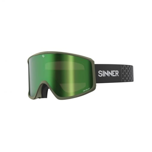 Sinner skibril Sin Valley - groen