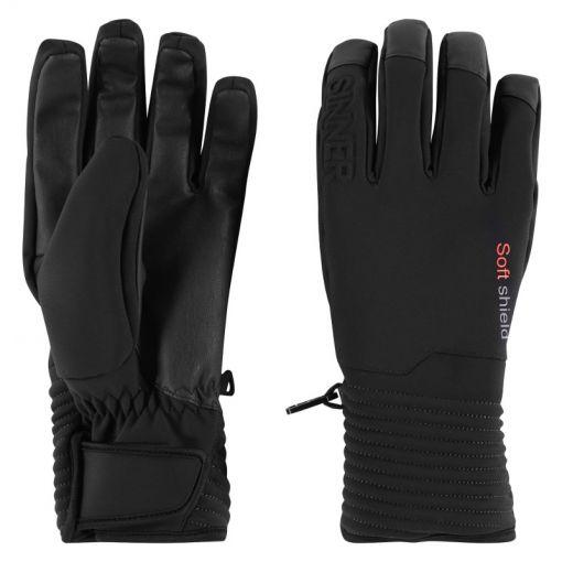Sinner senior handschoen Ski Mont Glove - Zwart