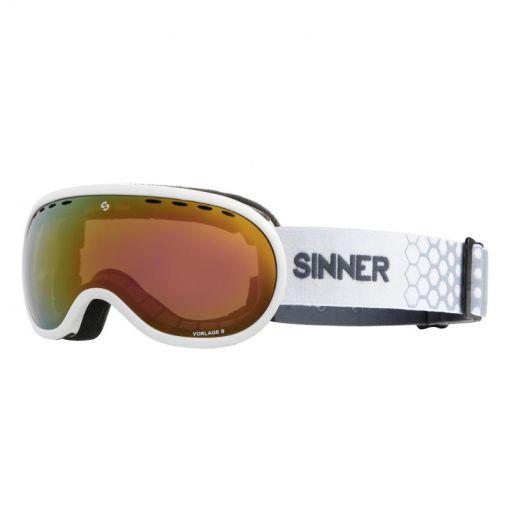 Sinner skibril Vorlage S - Wit