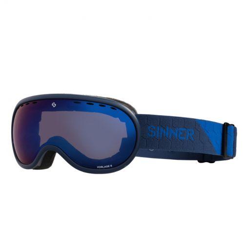 Sinner skibril Vorlage S - blauw