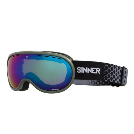 Sinner skibril Vorlage S - groen
