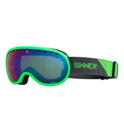 Sinner skibril Vorlage S - 77 MATTE NEON GREEN
