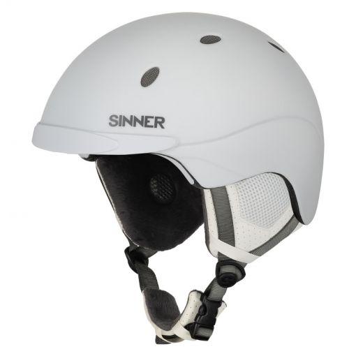 Sinner senior skihelm Titan - 30E MATTE WHITE