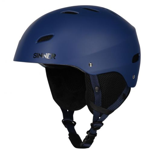 Sinner senior skihelm Bingham - 50 MATTE BLUE