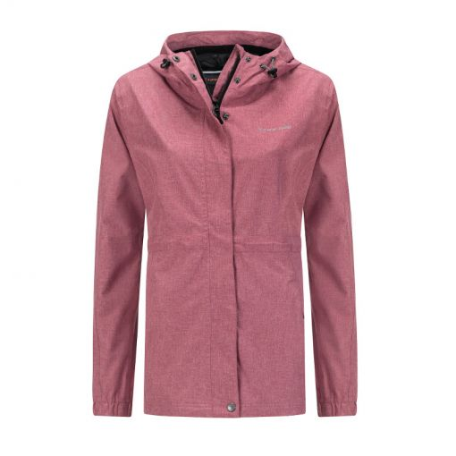 Buxton Ladies Hardshell  Jacket - 5012 Dark Pink