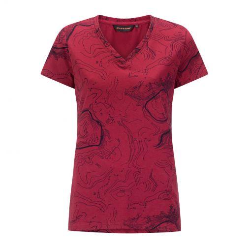 Chardy Ladies T-Shirt Shortsleeve - 5012 Dark Pink