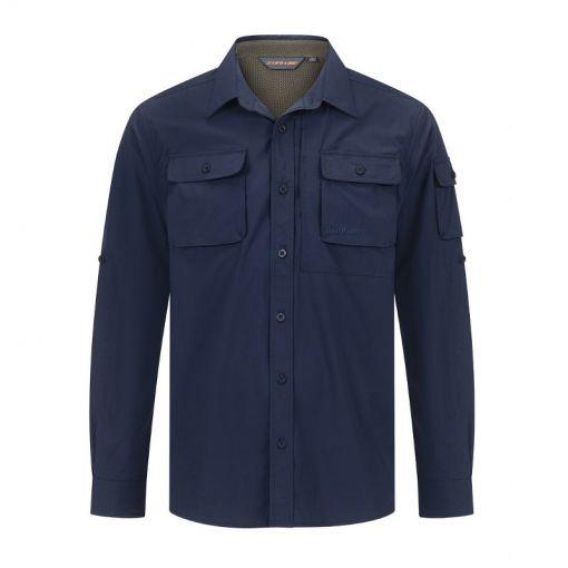 Malton Mens Shirt - 3010 Dark Navy