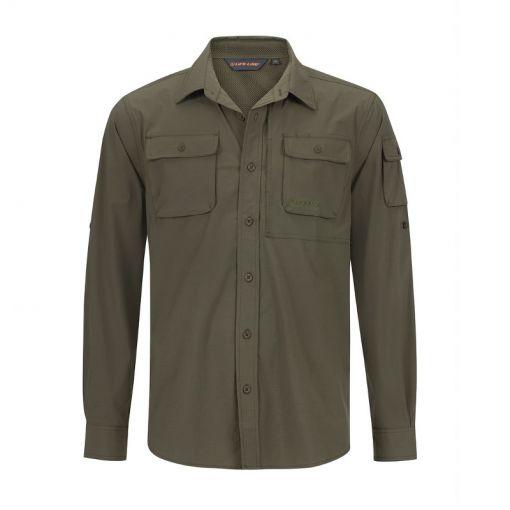 Malton Mens Shirt - groen