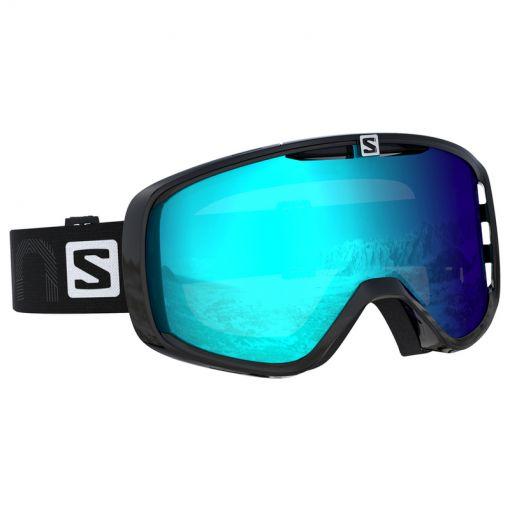 Salamon senior skibril Photo Xf - Zwart