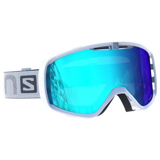 Salomon senior skibril Photo Xf - Wit