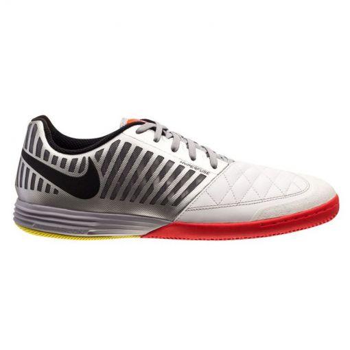 Nike zaalvoetbalschoen Lunargato II - 167 White/Metallic