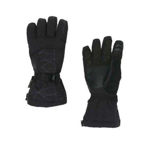 Spyder senior handschoenen Overweb Gtx - Zwart