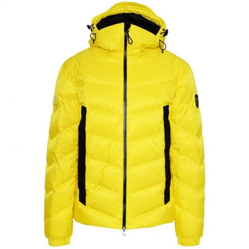 Armani EA7 heren ski jas Down Jacket - C1637 Blazing Yellow