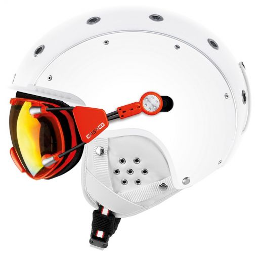 Casco senior skihelm SP3 Airwolf - wit