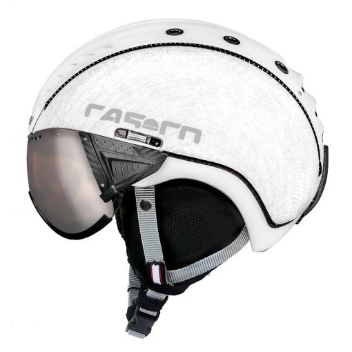 Casco senior skihelm SP2 Viser - STD White-Matt