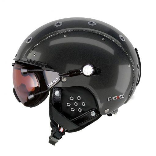 Casco senior skihelm SP-3 Limited Crystal - Zwart