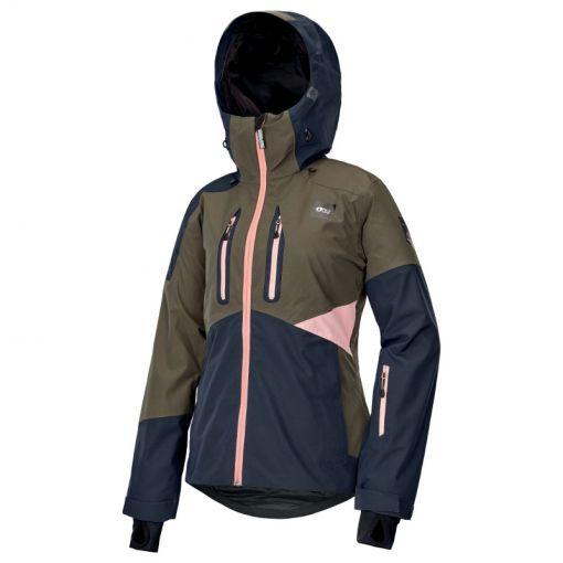 Picture dames ski jas Seen Jacket - Dark Army Green