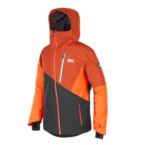 Picture heren ski jas Alpin Jacket - Black Brick