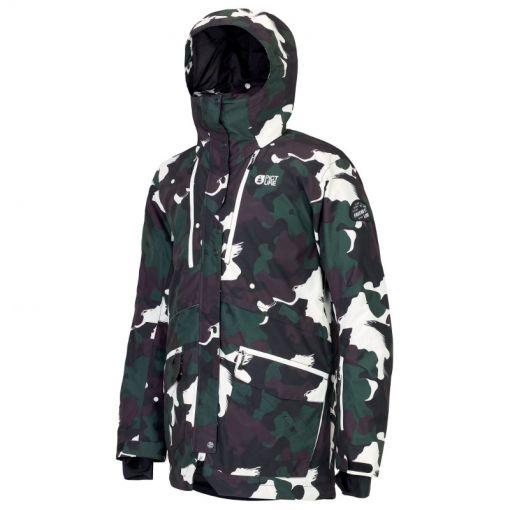 Picture heren ski jas Pure Jacket - Black Painter