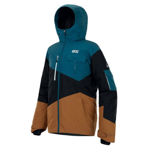 Picture heren ski jas Styler Jacket - Bruin