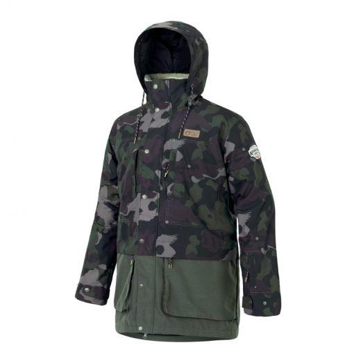 Picture heren ski jas Dann Jacket - Groen