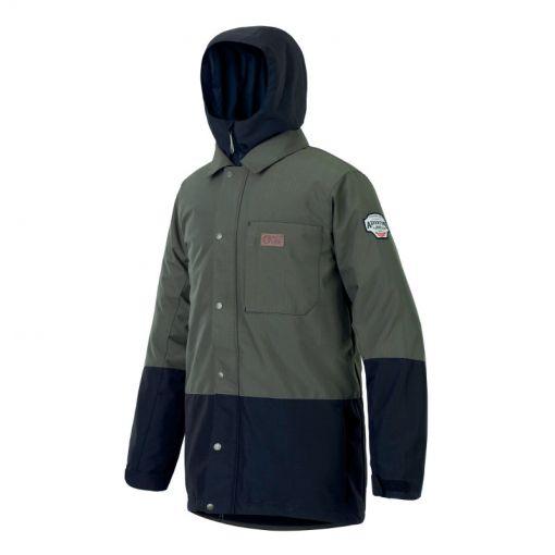 Picture heren ski jas Paragon Jacket - Dark Army Green