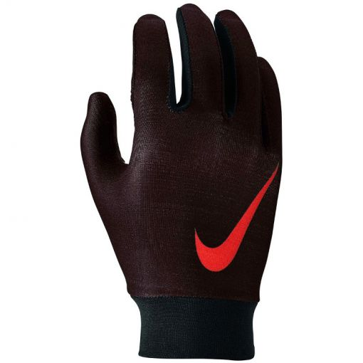 Nike Ya Base Layer Gloves - 019 Bla/Red