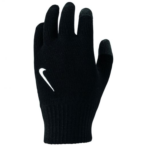 Ya Knitted Tech Grip Gloves - 091 Bla/White