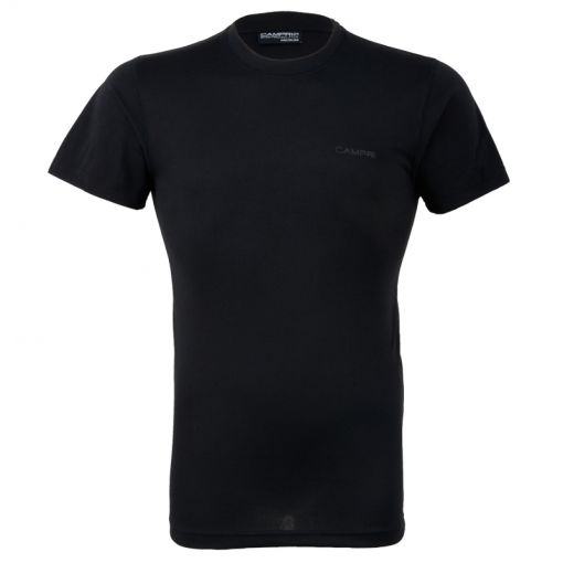 Donnay heren t-shirt S/S Thermal Top - Zwart