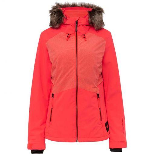 O'Neill dames ski jas Halite - 3021 Neon Flame