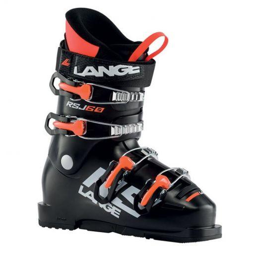 Lange junior skischoenen RSJ 60 - 0 Schwarz/Orange